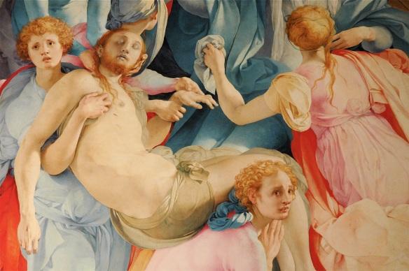 Jacopo da Pontormo, Deposition (1525-26), Capponi Chapel, Santa Felicita, Florence