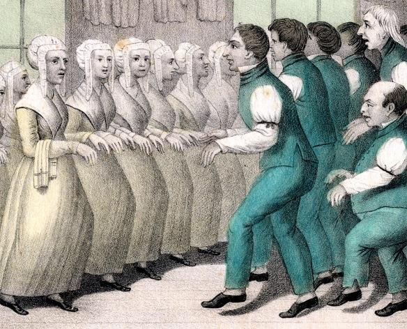 Shakers dance