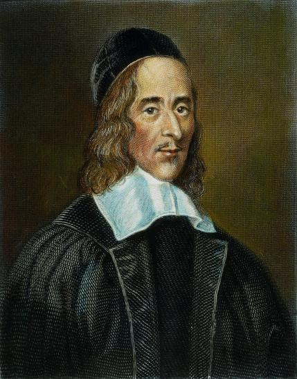 Robert White portrait of George Herbert painted 41 years after his death.