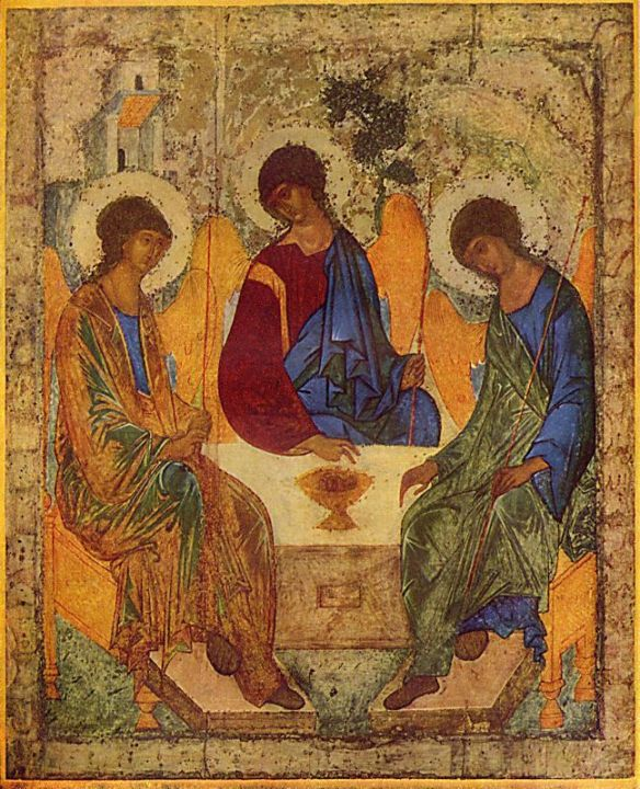 Andrei Rublev, The Holy Trinity (1425)