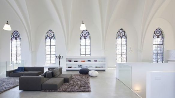 Netherlands church converted to private residence.