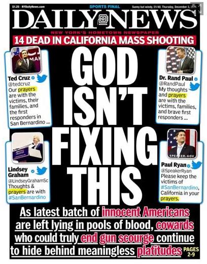 New York Daily News, 12/3/15