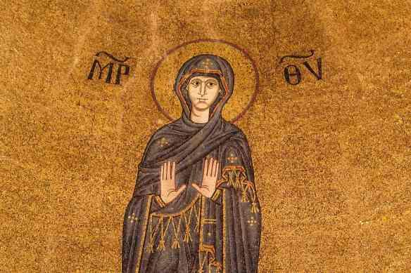 Apse mosaic, Basilica dei Santi Maria e Donato, Murano, Venezia (12th century)
