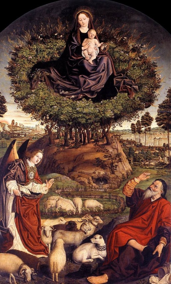 Mary in The Burning Bush, Nicolas Froment (1475-6)