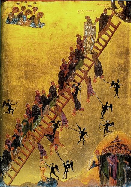 Ladder of Divine Ascent, St. Catherine's Monastery, Mt. Sinai (12th century)