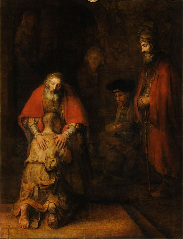 Rembrandt van Rijn, The Return of the Prodigal Son, c. 1661–1669 (Hermitage Museum, Saint Petersburg)