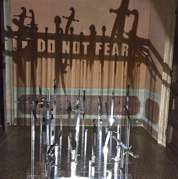 "Rashad Alakbarov, ""Do Not Fear,"" installation at Venice Biennale 2015"