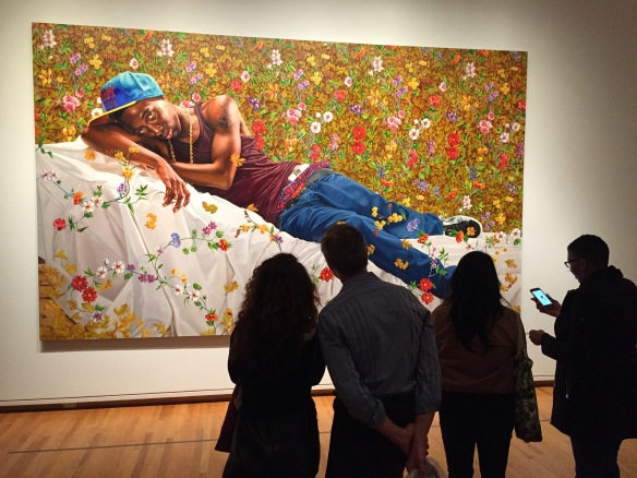 """Contemplating Kehinde Wiley's """"Morpheus"""" at the Seattle Museum of Art"""
