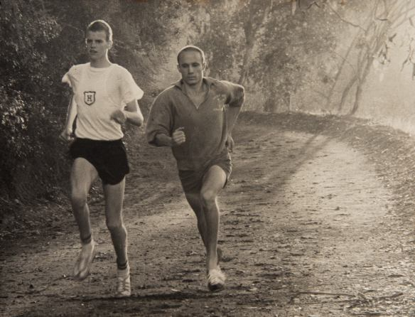 Jim Friedrich and Mike Riebs, Santa Monica Mountains, 1961