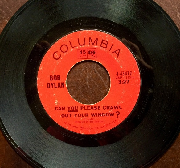 One of my prized 45s is this obscure single, released Dec. 21, 1965.